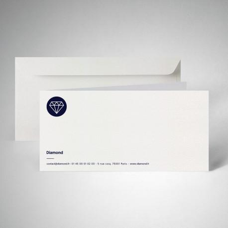 Pack correspondance double metallics cryogen blanc