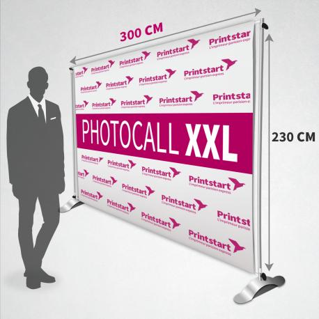 Photocall 230 x 300 cm