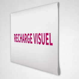 Recharge visuel Photocall
