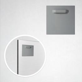 Accroche adhésive métal 8 cm