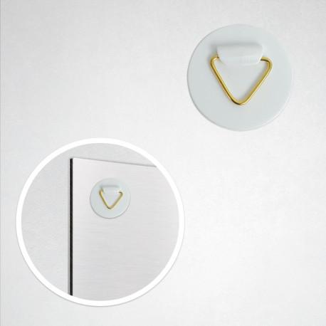 Accroche adhésive PVC (4 cm)