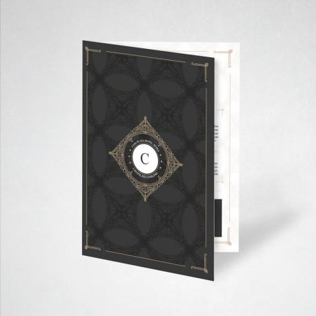 Plaquette papier Conqueror wove 45 x 21 cm