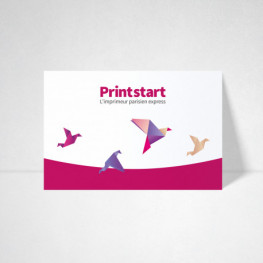 Carte postale papier standard