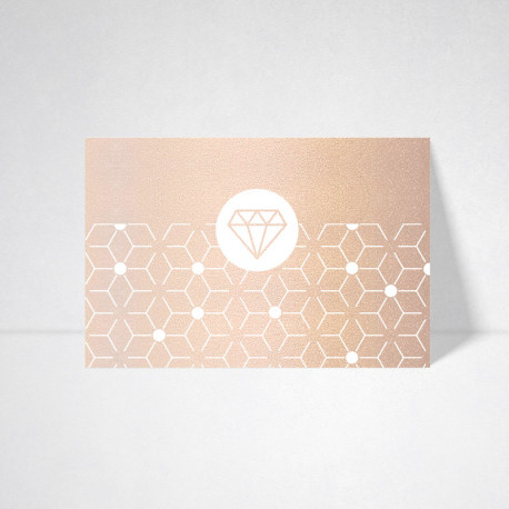Cartes postales Metallics