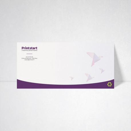Cartes de correspondance recyclée