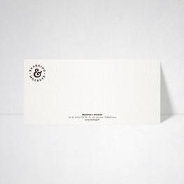 Carte de correspondance Tradition extra blanc