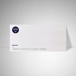 Carte de correspondance Metallics perle akoya