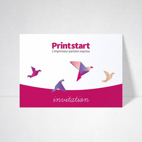 Cartes d'invitation standard