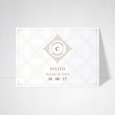 Carte d'invitation Conqueror wove