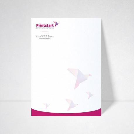 Carte A4 standard