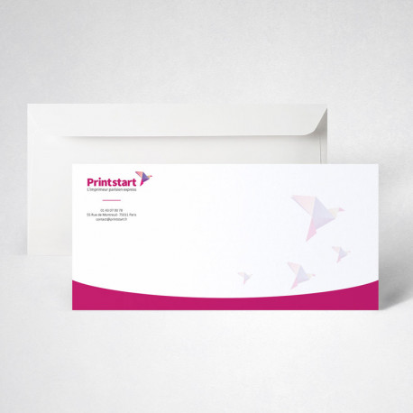 Pack carte de correspondance standard