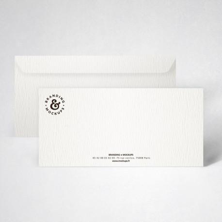 Pack carte de correspondance texturée