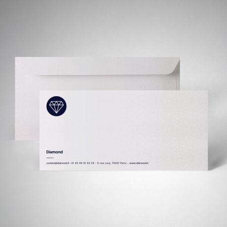 Packs carte de correspondance metallics perle akoya