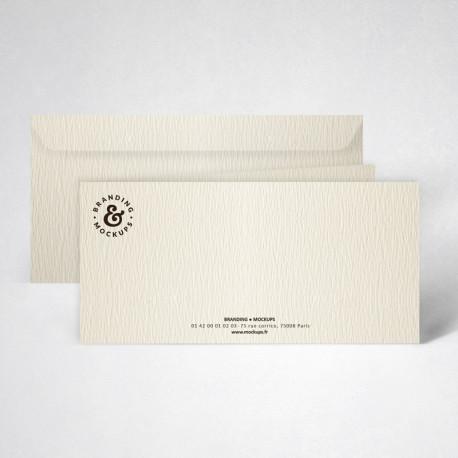 Pack correspondance double texturée ivoire