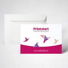 Pack carte invitation standard