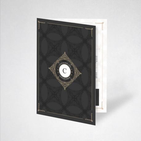 Plaquette papier Conqueror wove 59.4 x 21 cm