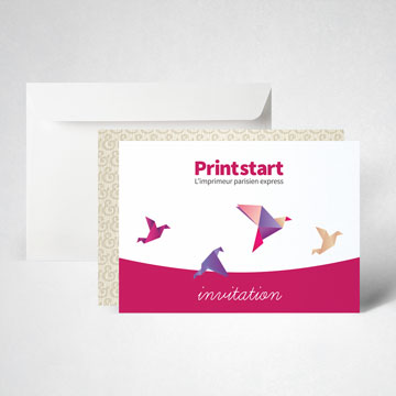 Pack carte d'invitation