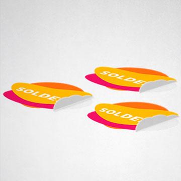 Stickers adhésif sol
