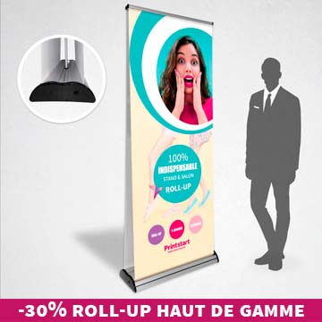 Roll-up recto verso luxe