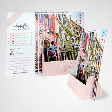 Presentoir carton A4